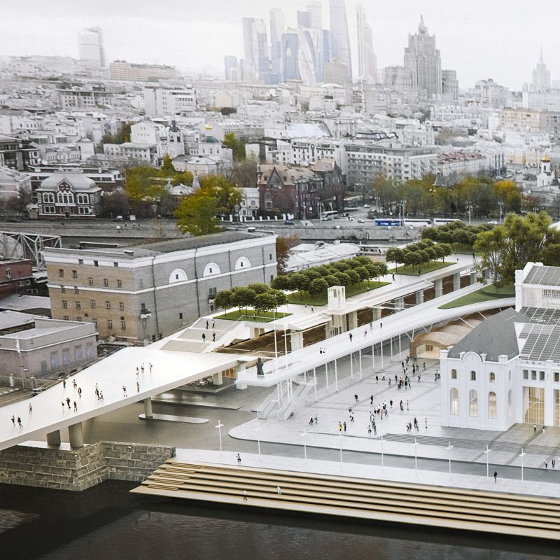 PATRIAR BRIDGE. IMPROVEMENT. DESCENT TO WATER