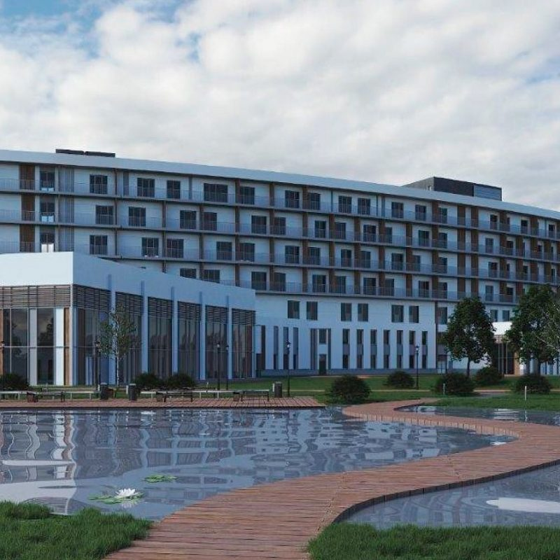"""STI will build a hotel complex with an indoor ice rink in the """"Patriot Park"""""""